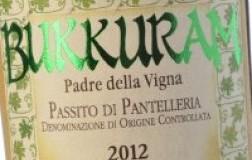 Bukkuram Padre della Vigna Pantelleria Passito Marco De Bartoli