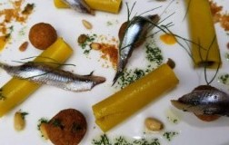Rivisitazione della pasta con le sarde