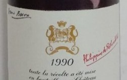 Chateau Mouton Rotschild Pauillac Premier Grand Cru Classé 1990