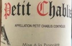 Vincent Dauvissat Petit Chablis 2017