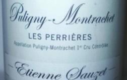 Puligny Montrachet 1er Cru Les Perrières 2008 Etienne Sauzet