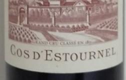 Saint Estephe Deuxième Grand Cru Classé 2000 Château Cos D'Estournel
