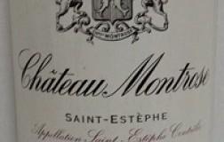 chateau montrose Saint Estephe Deuxième Grand Cru Classé 1998