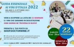 Seminari presentazione Guida Essenziale ai Vini d'Italia 2022 DoctorWine