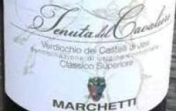 Marchetti Verdicchio dei Castelli di Jesi Classico Superiore Tenuta del Cavaliere vino bianco Marche