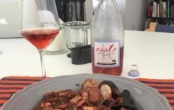 La Salceta Rosato Osato Val d'Arno di Sopra vino toscana con abbinamento