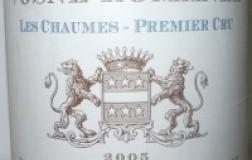 Vosne Romanée 1er Cru Les Chaumes 2005 Comte Liger Belair