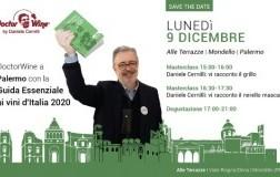 Seminari DoctorWine a Palermo presentazione Guida Essenziale ai Vini d'Italia 2020
