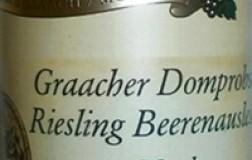 Willi Schaefer Graacher Domprobst Riesling Beerenauslese GoldKapsel