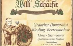 Willi Schaefer Graacher Domprobst Riesling Beerenauslese