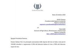 lettera protesta UIV al governatore Fontana