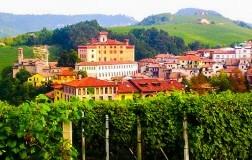 Barolo (Langhe - Cuneo - Piemonte) e il suo castello