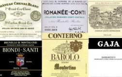 I soliti noti, etichette, vini buonissimi, italia, francia