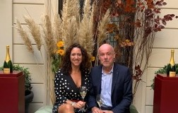 Chiara Giovoni e Eric Lebel