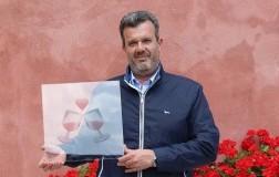 Franco Cristofoletti, presidente Chiaretto di Bordolino con l'emoji Pink-Wine