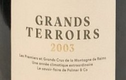 Champagne Palmer Champagne Grands Terroirs 2003