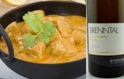 pollo al curry abbinamento Alto Adige Gewürztraminer Brenntal Riserva 2016 Cantina Kellerei Kurtatsch