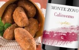 Polpette di lesso e Calinverno Rosso Veronese 2016 Cottini Monte Zovo