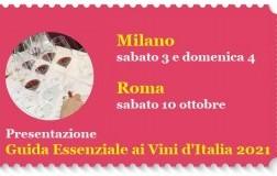 Presentazioni Guida Essenziale di Vini d'Italia 2021 DoctorWine Milano e Roma