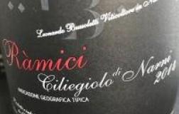 Ramici Ciliegiolo di Narni igt Bussoletti vino rosso umbria