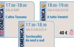 L'altra Toscana, Territorialità da Nord a Sud, A tutto Veneto.