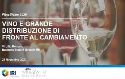 vendite vino in GDO 2020