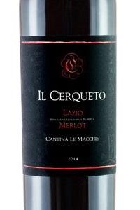 cantina Le Macchie Il Querceto Lazio Merlot igt vino rosso