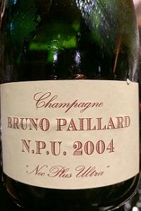 Bruno Paillard Champagne Bruno Paillard N.P.U. 2004