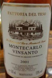 fattoria del teso montecarlo vinsanto vino dolce toscana