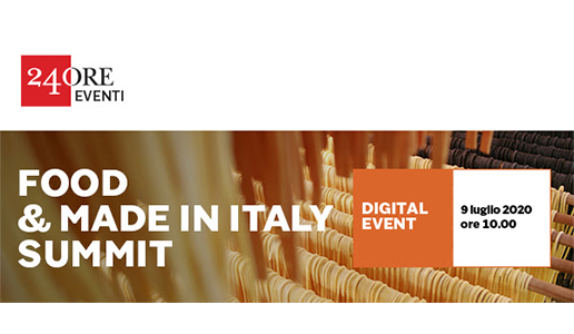 Food & Made in Italy Summit del Sole 24 Ore