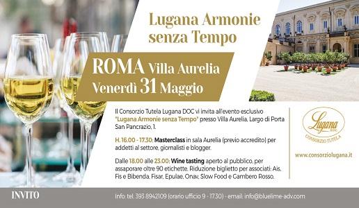 invito roma 31 maggio lugana
