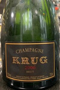 krug champagne krug 2006