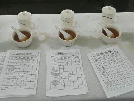 Scheda valutazione tè nero