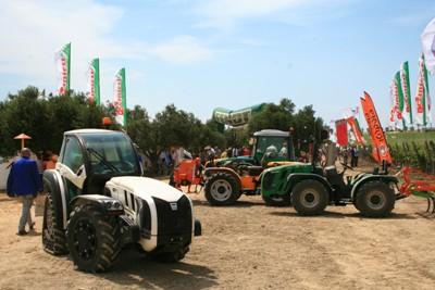 Enovitis in Campo, trattori